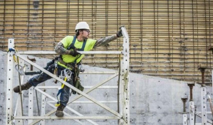Suben los accidentes laborales en la construcción en un 75%