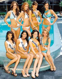Aspirantes a Miss Universo vienen al South Coast Plaza